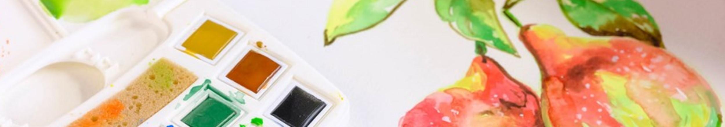 Aquarell Malerei mit Zurban-Toolbox